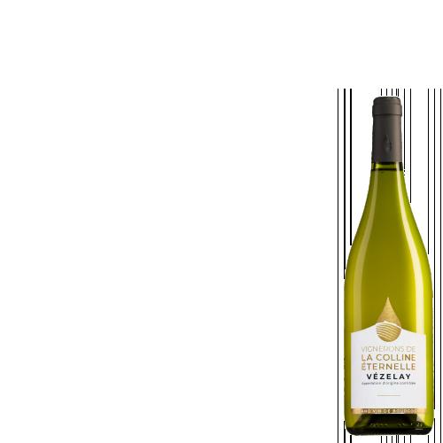 Wijnkist met Cuvée Henry de Vézelay Bourgogne Chardonnay
