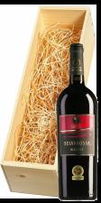 Wijnkist met Cantine Due Palme Salice Salentino Selvarossa