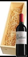 Wijnkist met Château Gaillard Saint-Émilion Grand Cru