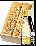Wijnkist met Collefrisio Montepulciano en Trebbiano Filarè