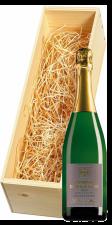 Wijnkist met Vitteaut-Alberti Crémant de Bourgogne Cuvée Lucien Brut