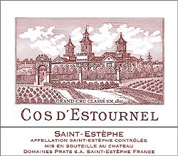 Cos d'Estournel Saint Esthèphe en primeur cb 6