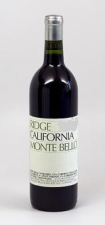 Ridge Estate Monte Bello, Cabernet Sauvignon