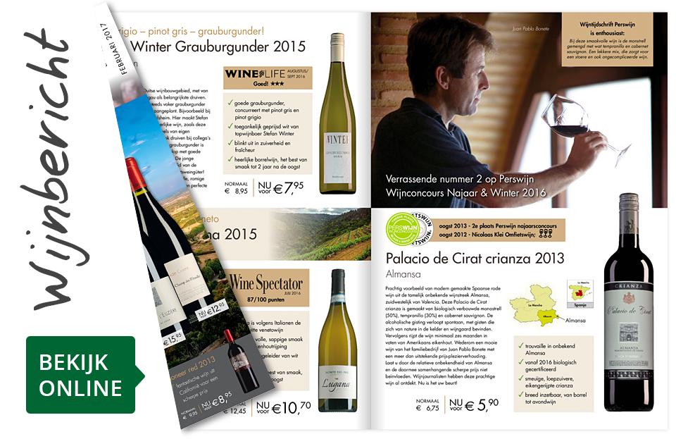 Online wijnbericht februari 2017