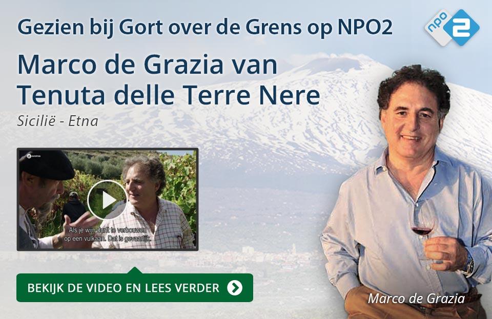 Marco de Grazia van Terre Nere op NPO2 - blauw