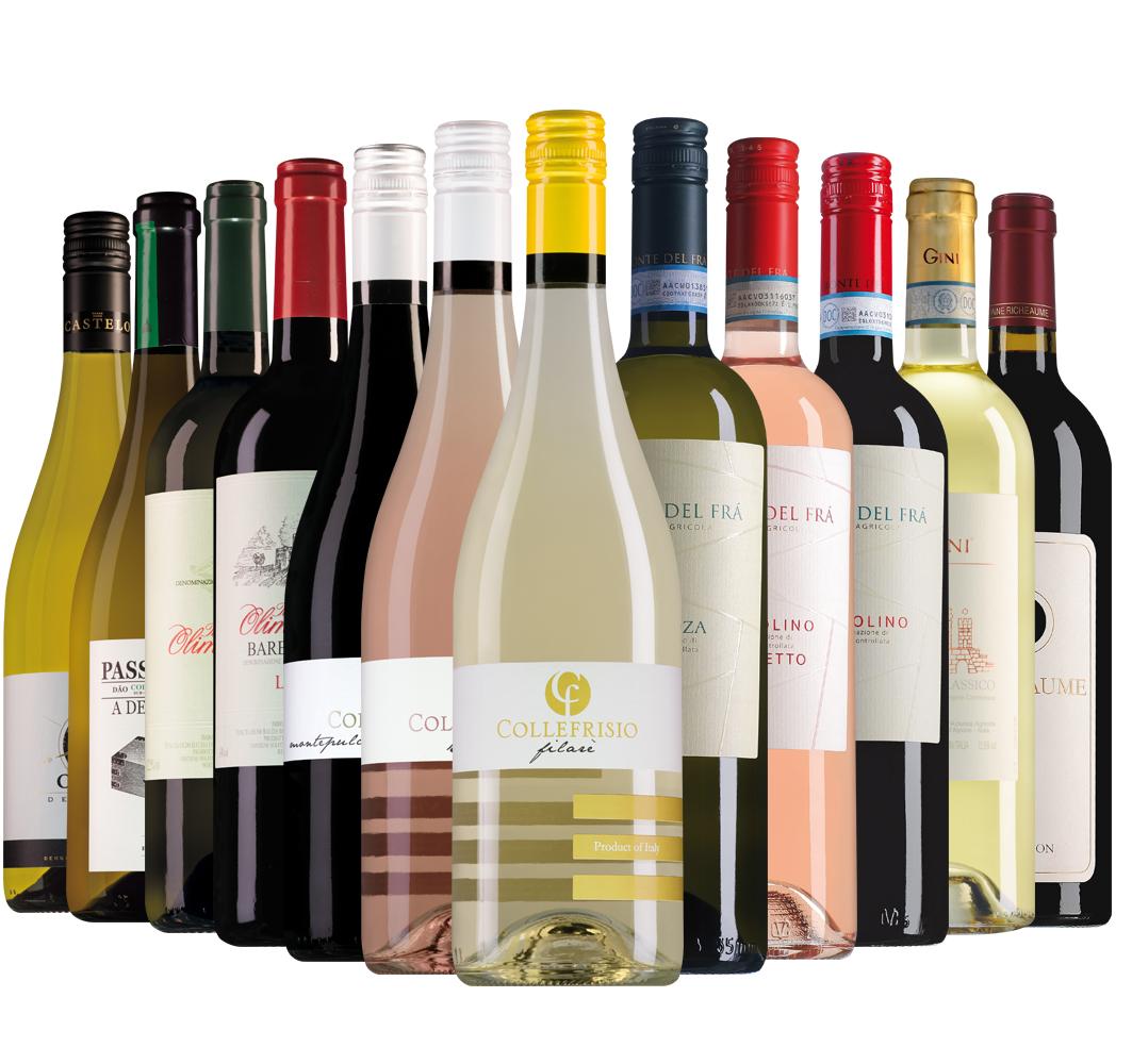 Proefpakket Wijnbericht augustus (12 flessen)