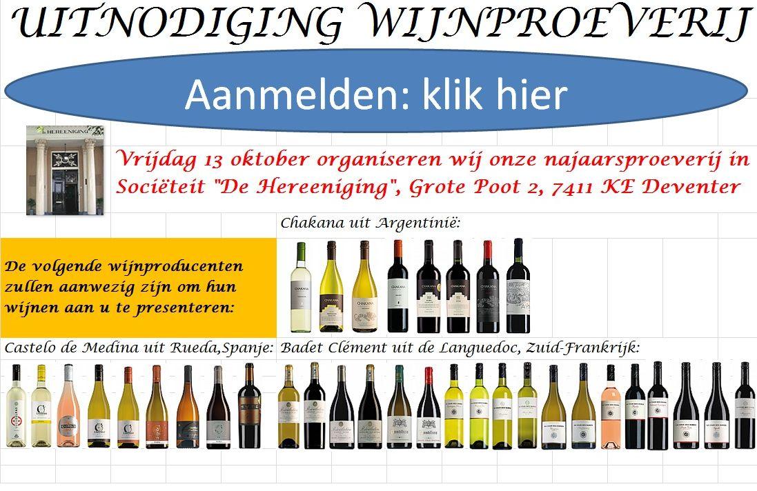 uitnodiging proeverij 3 wijnmakers