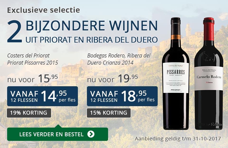 Exclusieve wijnen oktober 2017 - blauw