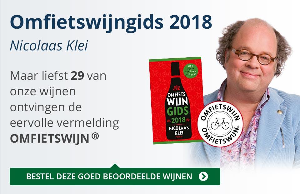 Omfietswijngids 2018 - blauw