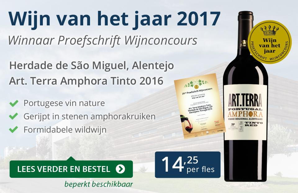 Proefschrift Wijn van het jaar 2017 - blauw