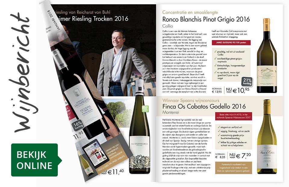 Online wijnbericht januari 2018