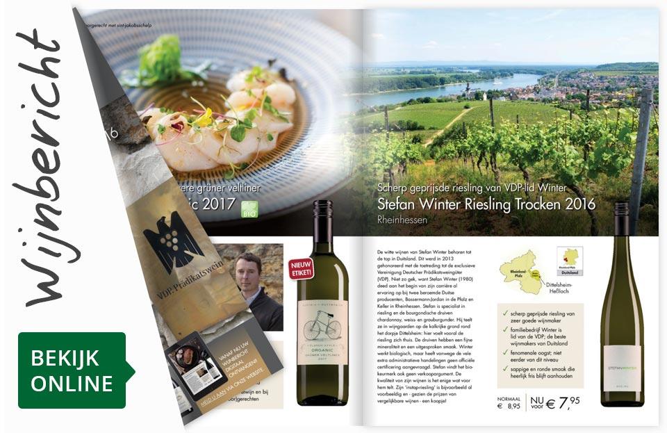 Online wijnbericht februari 2018