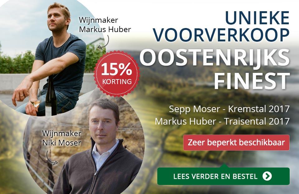 Voorverkoop Sepp Moser en Markus Huber 2017 - blauw