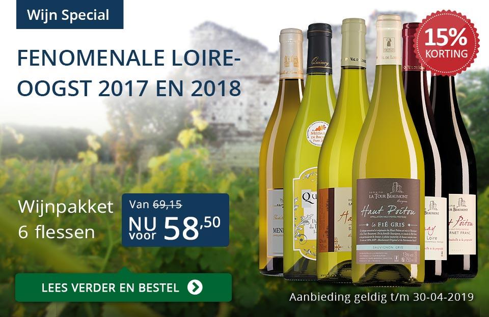 Wijnspecial Loire wijnen- blauw