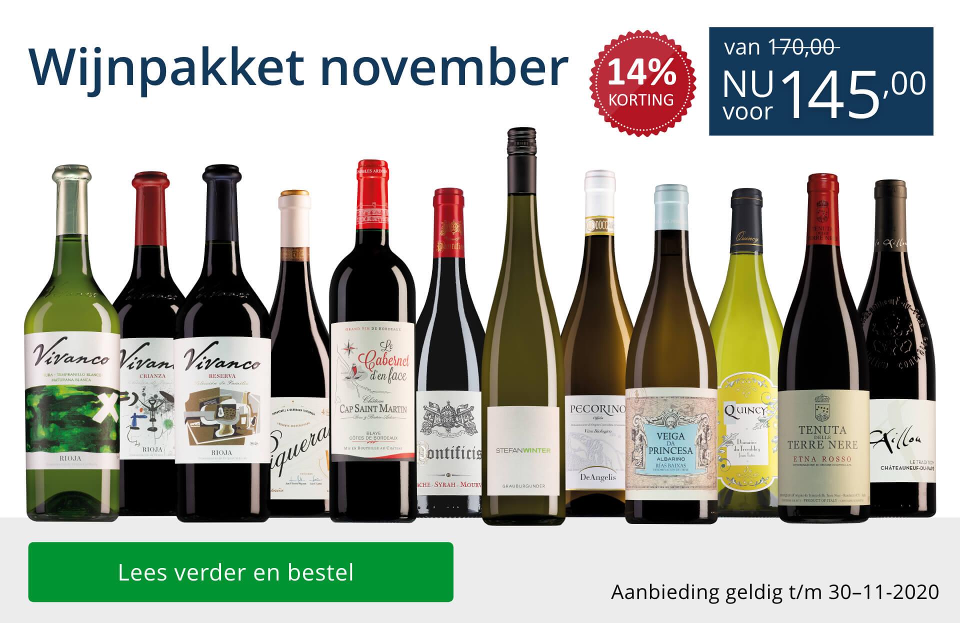 Wijnpakket wijnbericht november 2020(145,00)-blauw