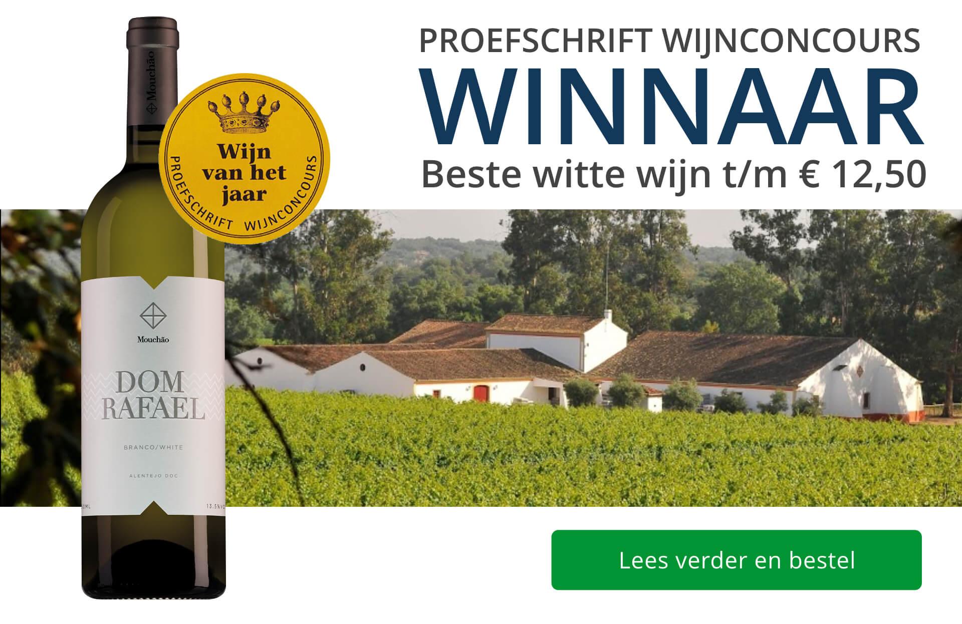 Proefschrift Wijnconcours 2020: Witte wijn van het Jaar - blauw