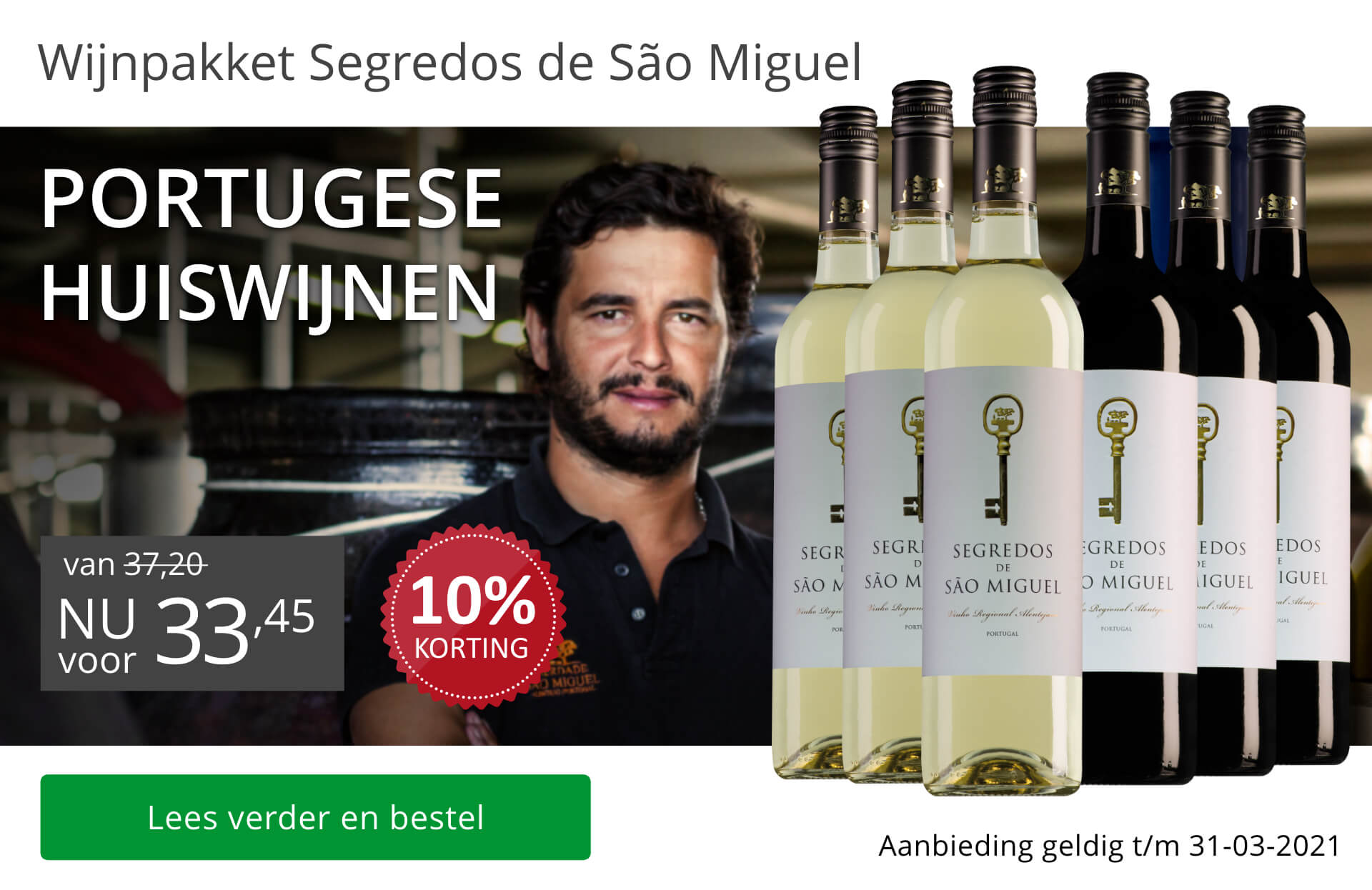 Wijnpakket Segredos de São Miguel