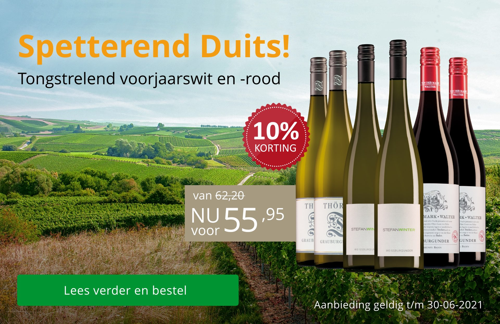 Spetterend Duits wijnpakket