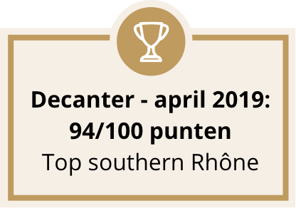 Decanter - april 2019: 94/100 punten
