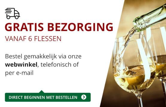 Gratis bezorging (6 flessen) - rood